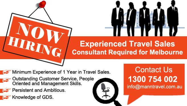 jobs for travel agent, sales consultant