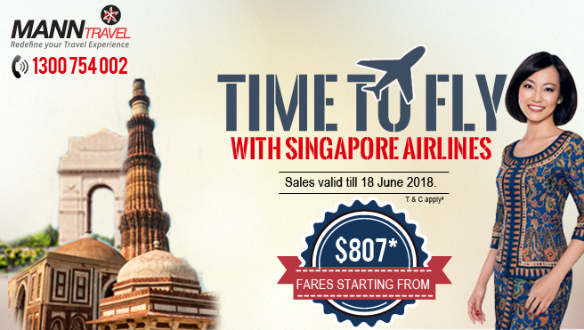 Fly with singapore airline, manntravel