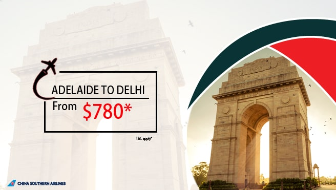 Adelaide to delhi cheap flight