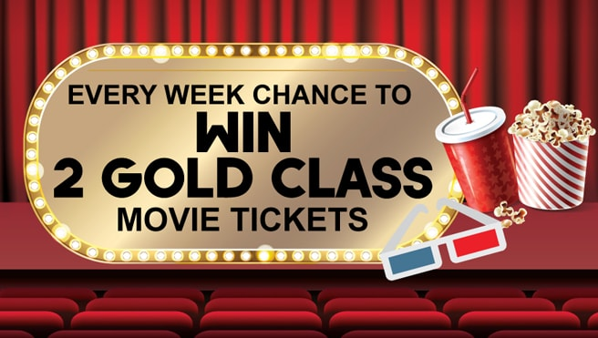 chance to win free movie tickets