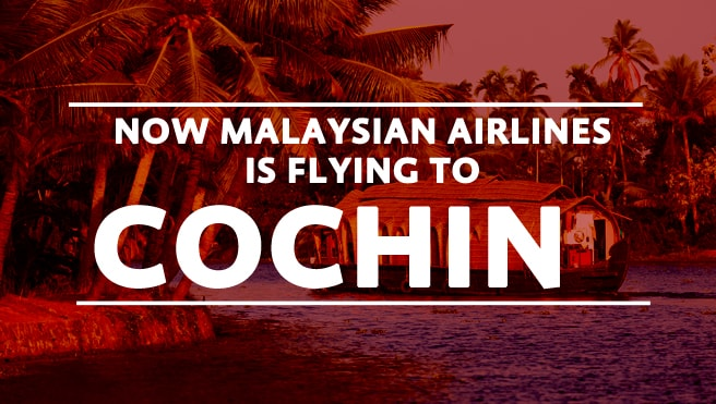 malaysian airline for cochin