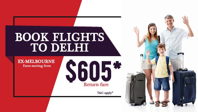 cheap flights from Melbourne to Delhi