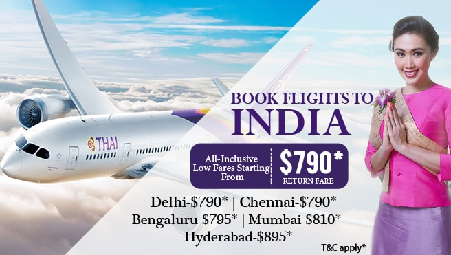 cheap flights from Australia to India