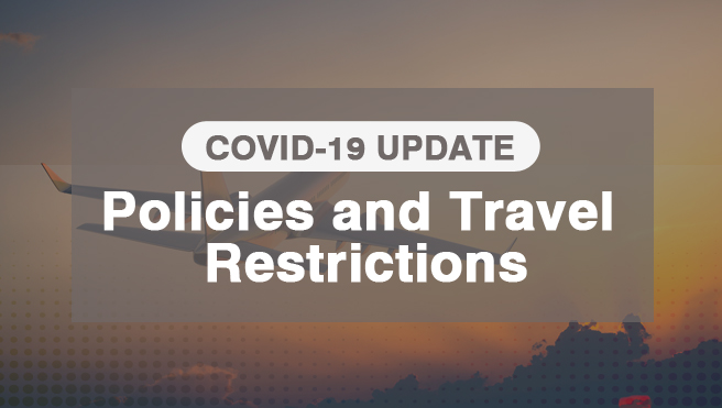 Policies and Travel Restrictions